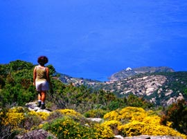 Hiking on Elba Island